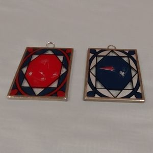 Red Sox & Patriots Sun Catchers